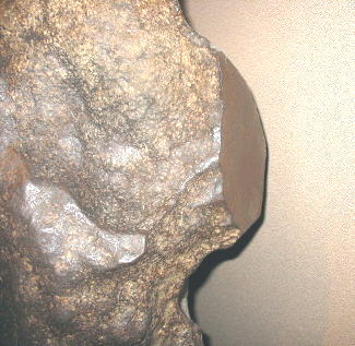 inner nodule of ring meteorite